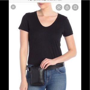 New Frye 30mm tall zip leather belt bag